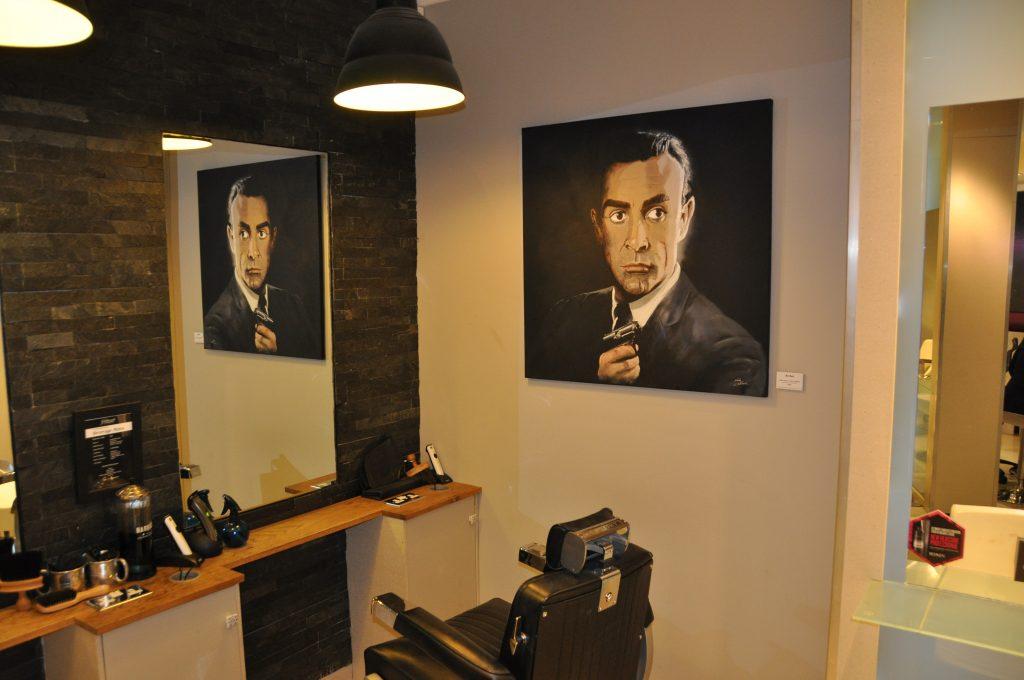 Partnership with glitterati salon weybridge nick paints for Nick s hair salon