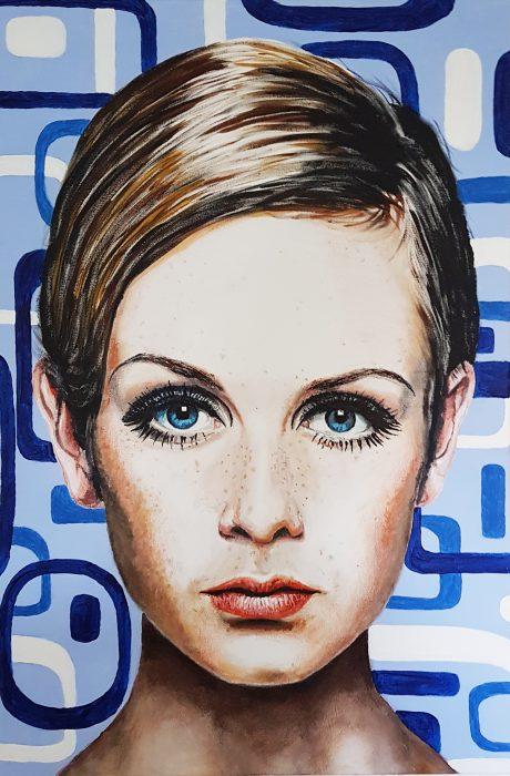 Twiggy painting