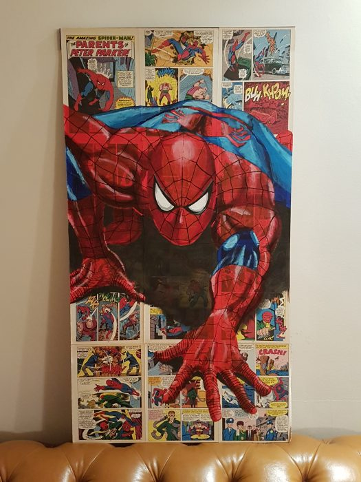 Portrait of Spiderman