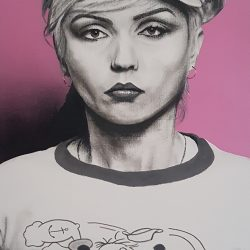 Painting of Debbie Harry