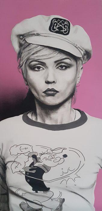 Painting of Debbie Harry