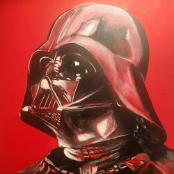Portrait of Darth Vader