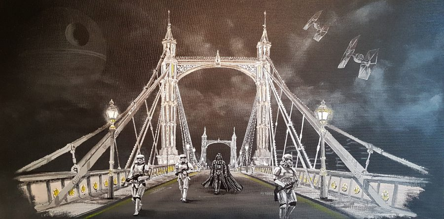 Stormtroopers on Albert bridge