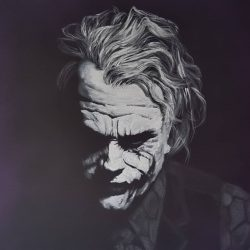 portrait of the joker