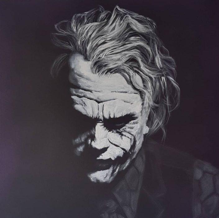 portrait of the joker