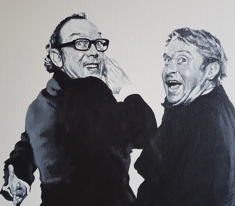 Portrait of Morecambe and Wise