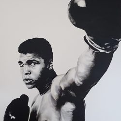 Painting of Muhammad Ali