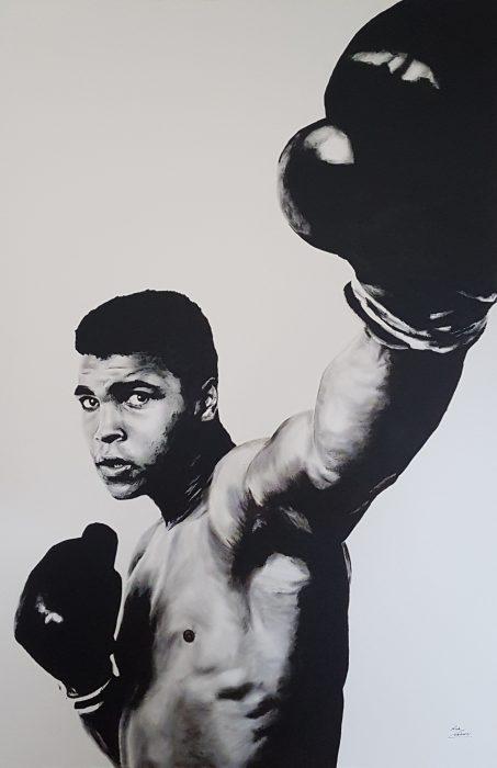 Painting of Muhammad Ali