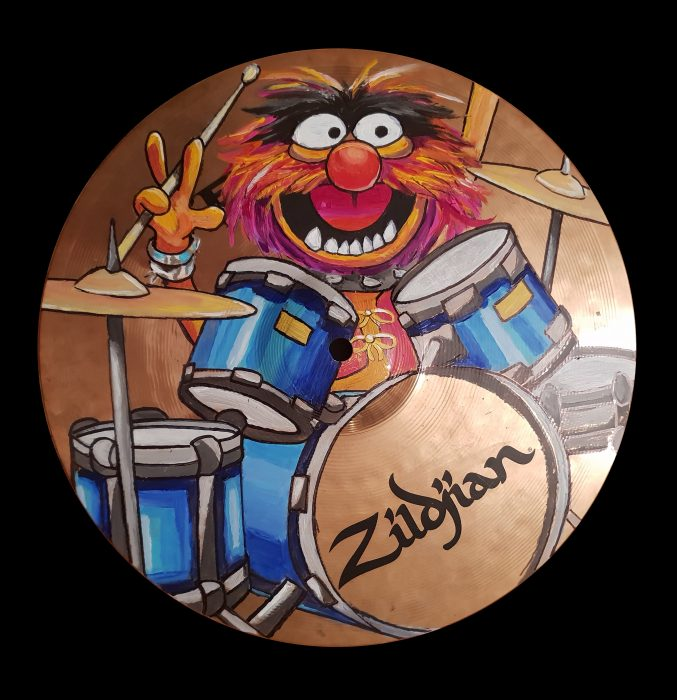 Animal from the Muppets painting