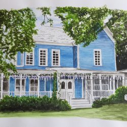 Gilmore Girls house
