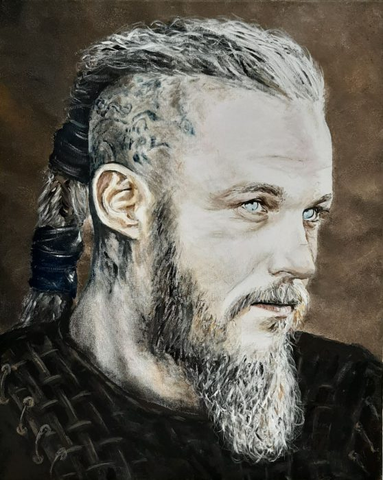 Painting of Ragnar