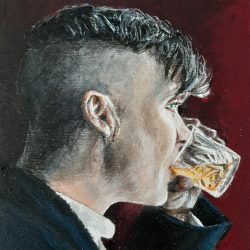 Peaky Blinders painting