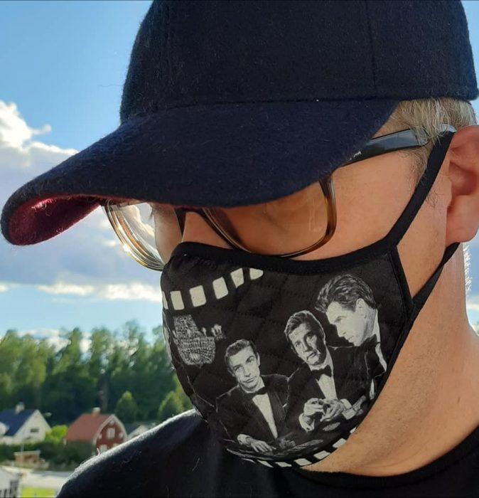 James Bond face mask
