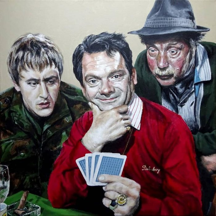 Painting of Only Fools and Horses