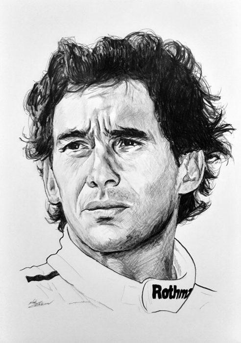 Senna drawing
