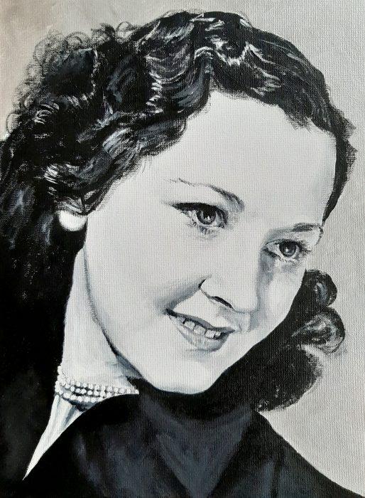 Nita Hanson painting